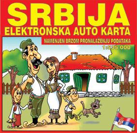 Srbija Elektronska Auto Karta
