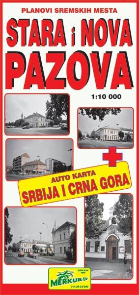 mapa srbije i crne gore. karta Srbije i Crne Gore u