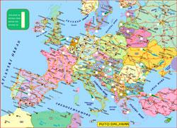 Auto Karta Evrope Daljinar Superjoden