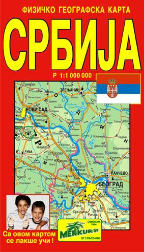 karta srbije cena Srbija fizicko goegrafska karta karta srbije cena